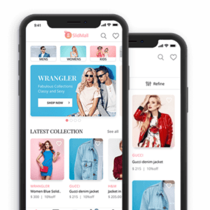 ecommerce and app