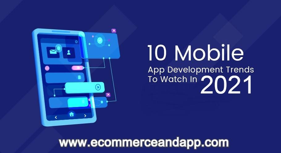 top 10 mobile app trends